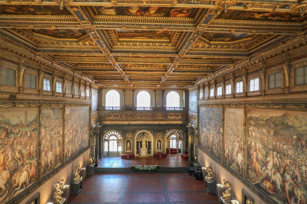 Het interieur van Palazzo Vecchio
