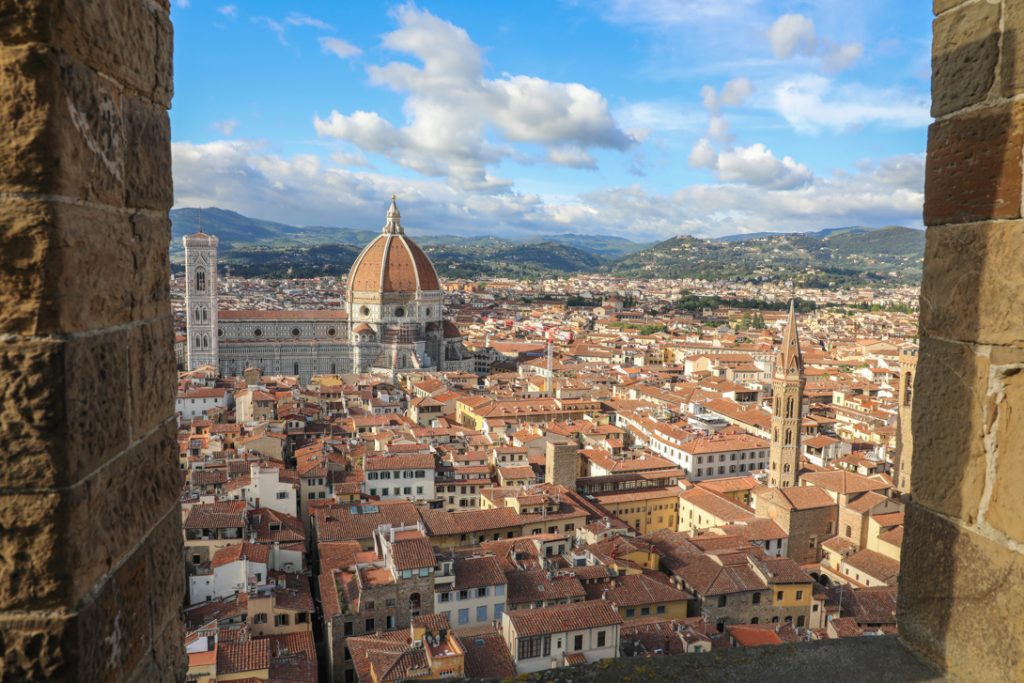 Uitzicht vanaf het Palazzo Vecchio