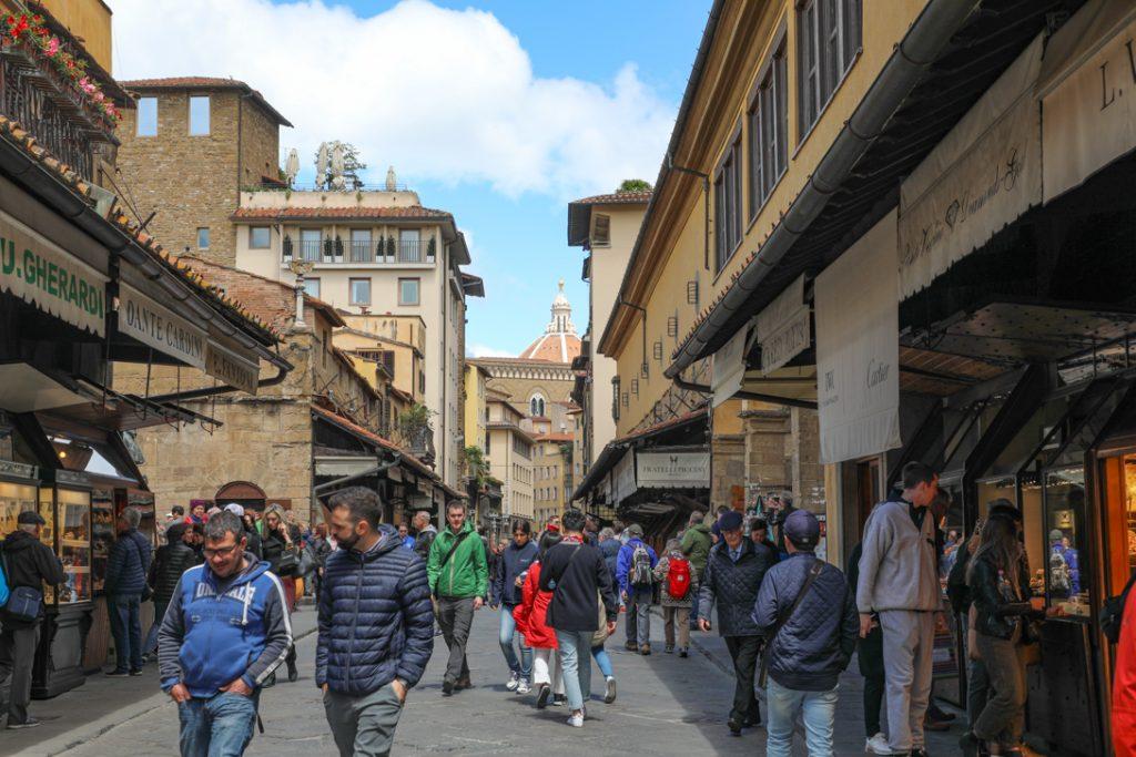 op de Ponte Vecchio