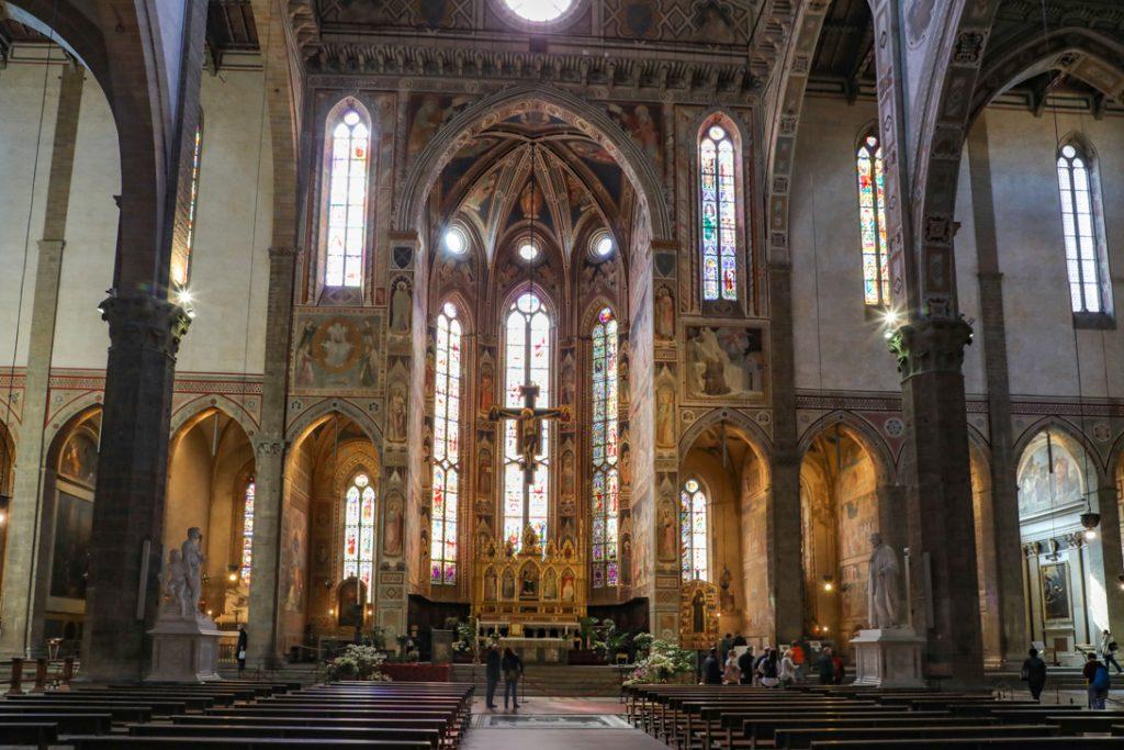 Santa Croce van binnen